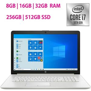 NEW-HP-17-3-Laptop-Intel-Core-i7-10th-Gen-Customize-upto-32GB-RAM-upto-512GB-SSD