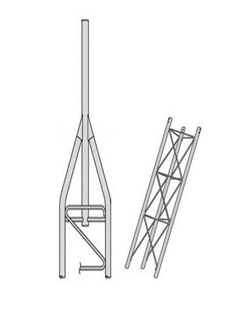 ROHN 45SS010    45G Series 10' Self Supporting Tower Kit . Available Now for 536.00