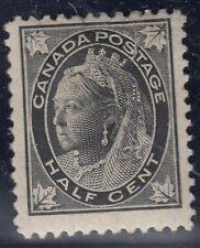 CANADA : 1897 1/2 cent  black SG142 mint
