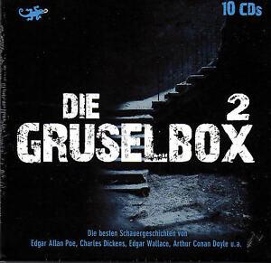 Die-Gruselbox-2-10-CDs-Poe-Wallace-Dickens-Doyle-10-CDs-NEU-OVP