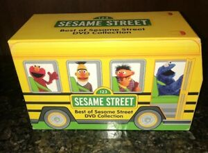 NEW-bus-box-Best-of-Sesame-Street-Collection-sealed-DVD-Elmo