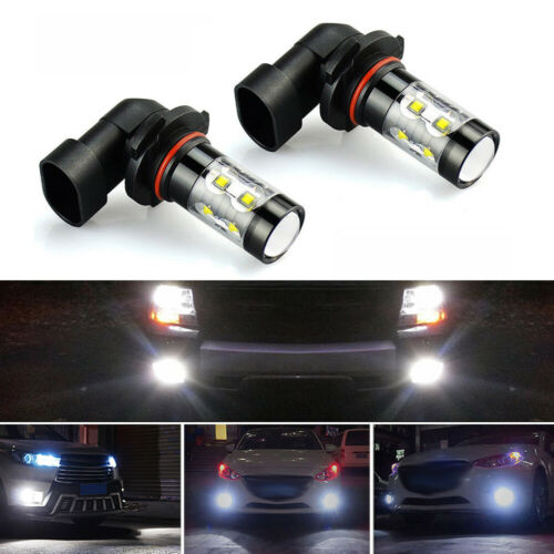 50W-SMD LED Fog Light Bulb Driving Lamp Replacement 6000K White 2x