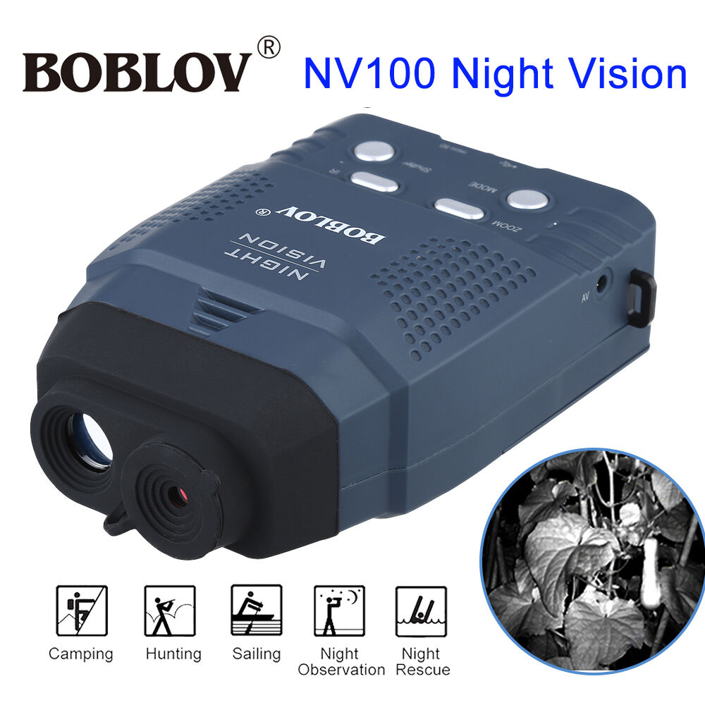 Digital IR vision nocturne monoculaire Jumelles CMOS chasse Vidéo Photo Recorder