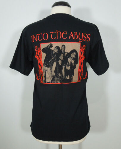 POISON NEW Into The Abyss T-Shirt Black Men/'s size L Ger
