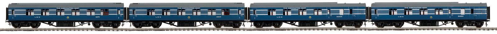 MTH Coronation Scot 4 Car Passenger Set for NEM Fine Scale 22-60055