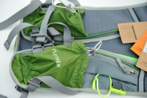 QUALITY Lightweight 12L Hydration Pack Running Hiking Cycling Backpack GREEN