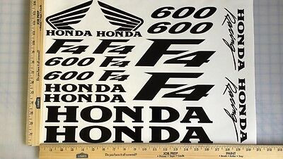 HONDA CBR 600 F4 600F4 18 COLORS AVAILABLE DECAL KIT SET HIGH QUALITY STICKERS
