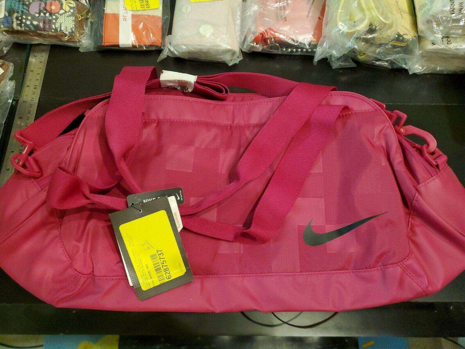 Ecología Significativo resbalón  Nike BA4653 664 Women's C72 Legend 2.0 Medium Club Duffel Gym Bag Fuchsia  BA4653 for sale online
