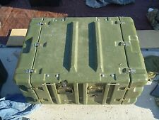 Waterproof Military Locking Transport Container Hard Case With Casters 80154