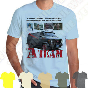 The-A-Team-Van-If-You-Have-A-Problem-And-You-Can-Find-Them-Cotton-Mens-T-shirt