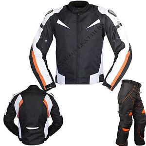 NEUF-Eviron-Moto-Textile-Cordura-Veste-amp-pantalon