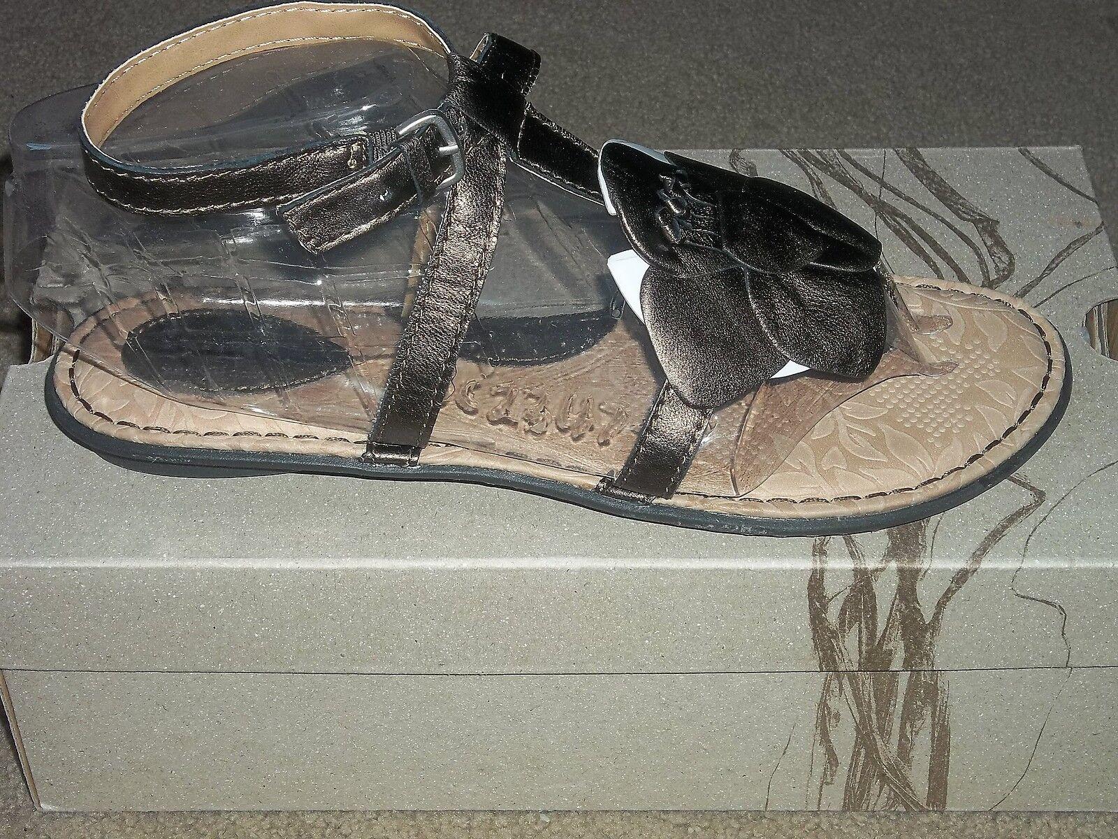 Born Concept violet Mor Flower Leather Strap Comfort Sandals New