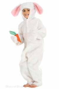 Kids-Rabbit-Costume-White-Easter-Bunny-Alice-in-Wonderland-World-Book-Day-Outfit