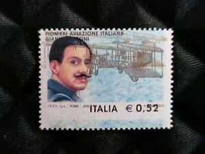 Italia-Repubblica-varieta-dentellatura-e-stampa-aviazione-G-Caproni-firmato