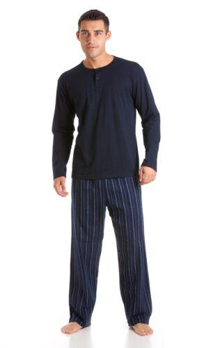 XL L Hommes Haigman T//shirt Et Long Jambe pyjama en coton jersey Top Pyjama Tailles M