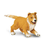 Collie Puppy Best In Show Dogs Figure Safari Toys Educational Kids