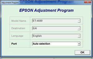 Details about Reset Epson Ecotank Et-4550 Reset ink pads counter