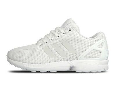Adidas Men's ZX FLUX 3M White Athletic Training Casual Sneakers S79093 | eBay