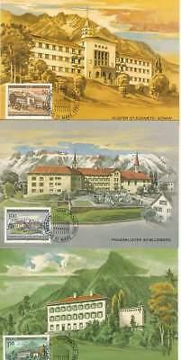 Gutherzig Liechtenstein Mk 53 Michelnummer 868-870 Diversifiziert In Der Verpackung europa:15443