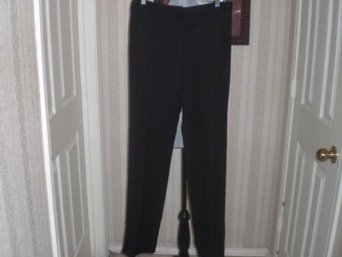 Taille Designer Pants 31 Wool Black Burberry Womens dpCqwwX