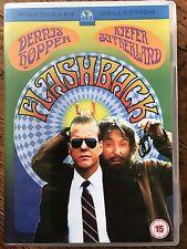 Dennis Hopper Kiefer Sutherland FLASHBACK ~ 1989 FBI Chase Hippy Cult Comedy DVD