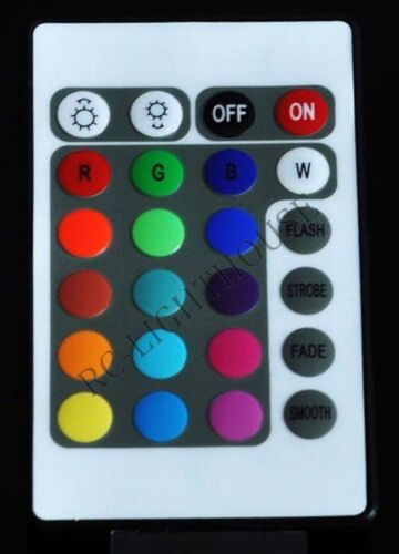 Premium RV LED Awning Light Set w// IR Remote control 24 key RGB 16.4/' 5050