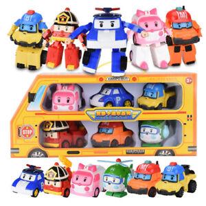 6pcs-Robocar-Poli-Roy-Amber-Robot-Action-Figures-Car-Bus-Toy-Set-Gifts-Birthday