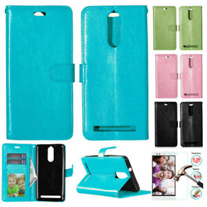 new product 9df9b cb412 Details about Case For Lenovo K5 Note A7020 PU Leather Flip Case Protective  Wallet Slots Cover