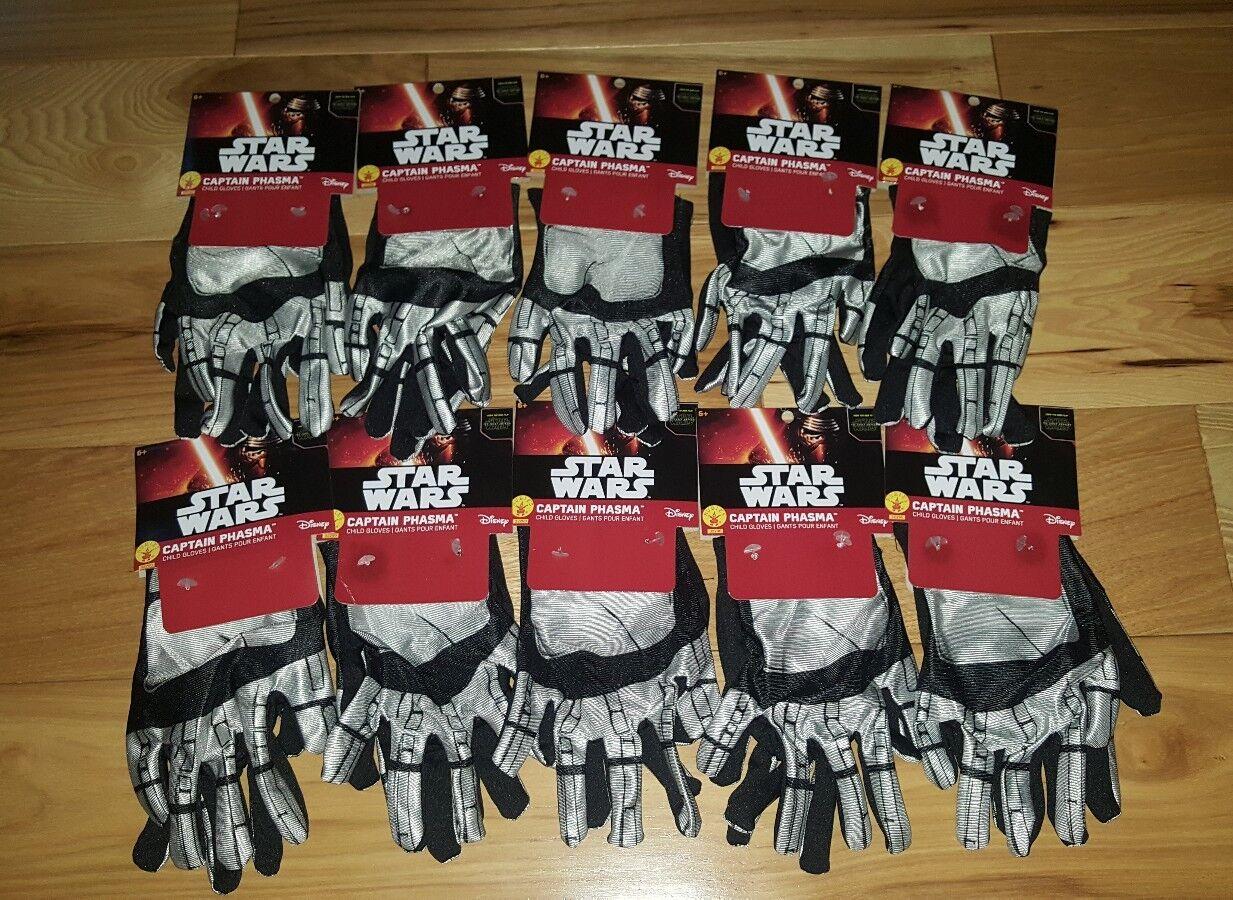 Viele 10 star wars  the force weckt hauptmann phasma kindes handschuhe neues kostüm