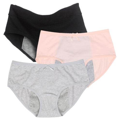 Pack of 5 Womens Period Knickers Menstrual Underwear Leakproof Panties Briefs