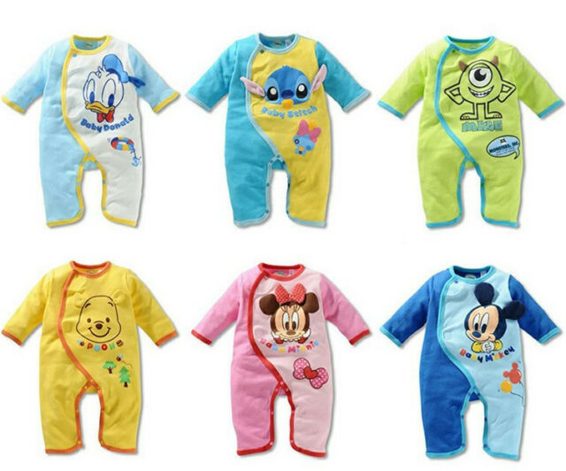 New Cute Baby Rompers Kids One-piece Jumpsuits Romper Baby Clothing Set