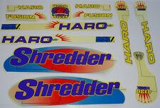 HARO SHREDDER og BMX Sticker Set - '90s Old School Freestyle BMX Decal Set - NOS