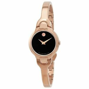 Movado 0607327 Women's Kara Black Quartz Watch