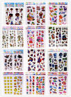3D Puffy Scrapbook Kids Party Favors Crafts stickers lot-Teacher Reward Stickers