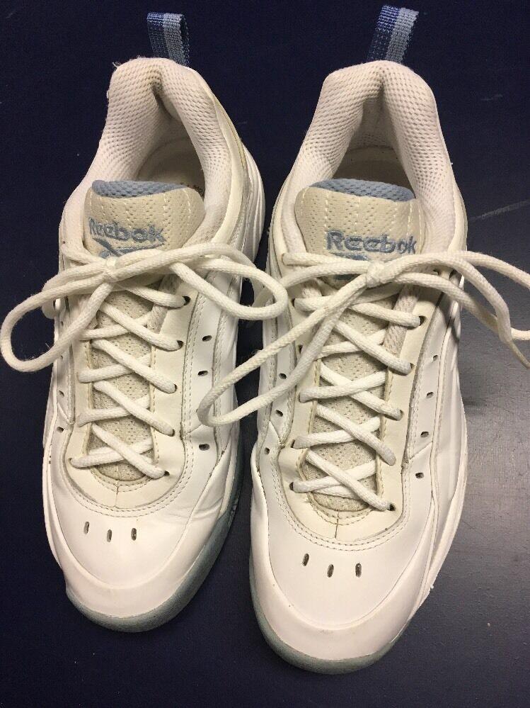 Women's Size White Rebook Tennis Shoes Size Women's 7 Medium af14a0