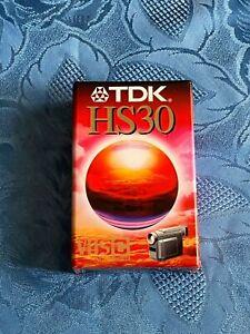 CASSETTE CAMESCOPE TDK HS 30/ VHS PAL SECAM