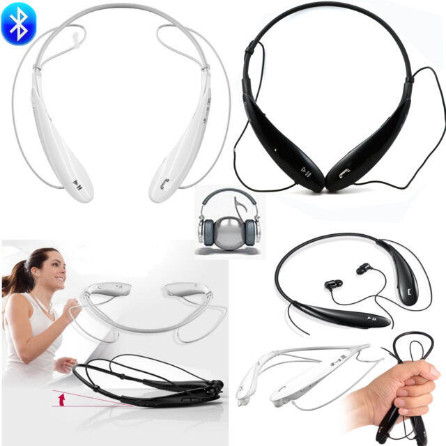 Wireless Bluetooth Sport Stereo Headset Earphone Neckband For Cellphone Tablet