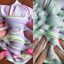 1pcs Cotton Candy Butter Slime Mud Stress Relieve Toys Kids Prank Party Toy