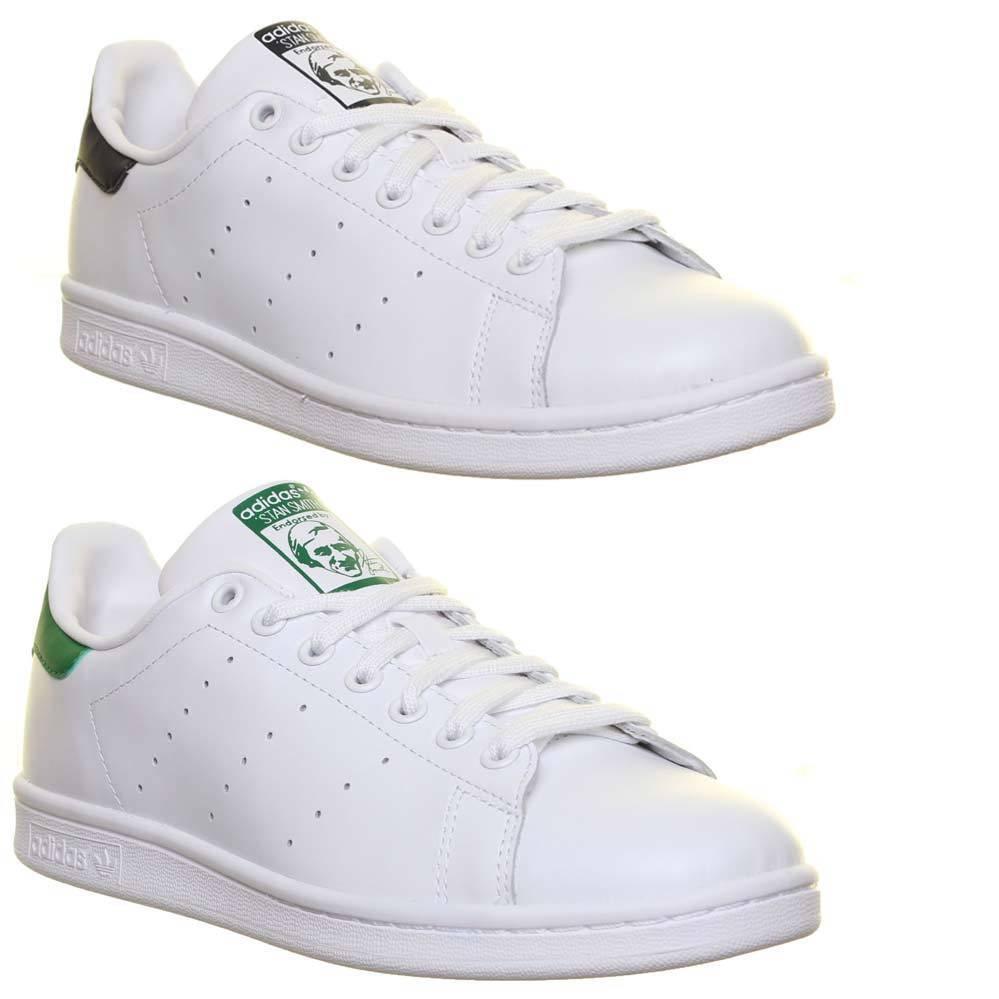 Adidas Originals Stan Smith Herren Schnursenkel Turnschuhe Sneakers EU GroBe 40