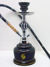 "14"" BLACK Modern Stylish Hookah Shisha Smoking Pipe Nargila Mya Style 1 Hose 009"
