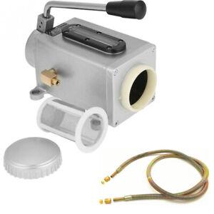 Y-8-6MM-Manual-Hand-Pump-Oiler-One-Shot-Lube-amp-CNC-Lubricating-Oil-Pipe-6-600mm
