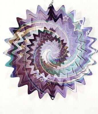 """**25 TO CHOOSE FROM** 6.5/""""//16.5cm Wind Spinner Sun Catcher Hook Garden Indoor"""