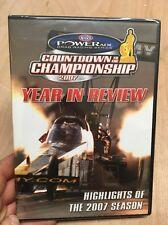NHRA Powerade Drag Racing Series:Countdown 2 Championship 2007 Season New+Sealed