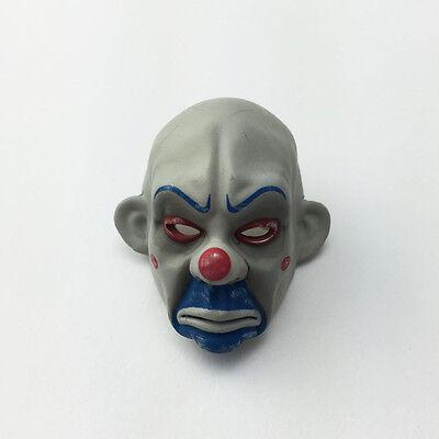 1//6 figure The dark knight clown face mask Blue flocking clown veil