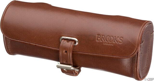 Brooks Challenge Attrezzo Sedile Borsa Antico in pelle braun