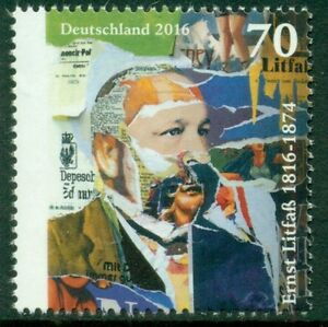 DUITSLAND-UITGAVE-2016-ERNST-LITFASS-1816-1874-GEGOMD