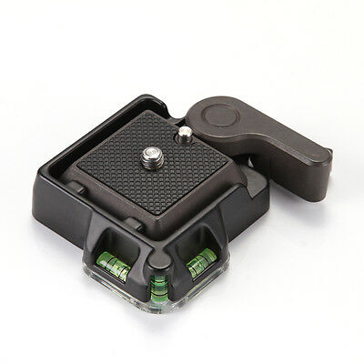 QR Quick Release Clamp Adapter Plate For Tripod Ball Head Arca Benro Compatible