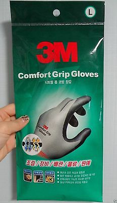 NEW 3M Nitrile Foam Coated Comfort Gloves for Electrical and Maintenance work