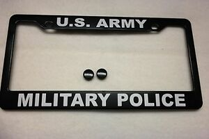 image is loading military license plate frame u s army military police - Military License Plate Frames