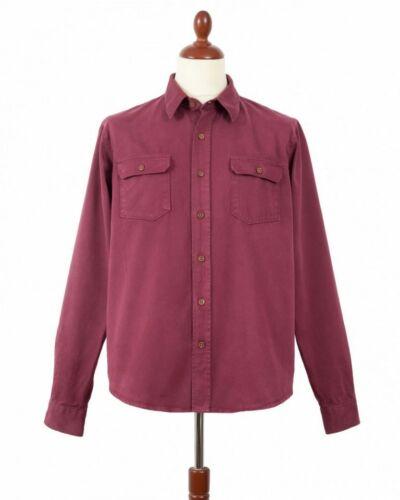 Indigofera Alamo Shirt/Jacket Guajillo Red Heavy S